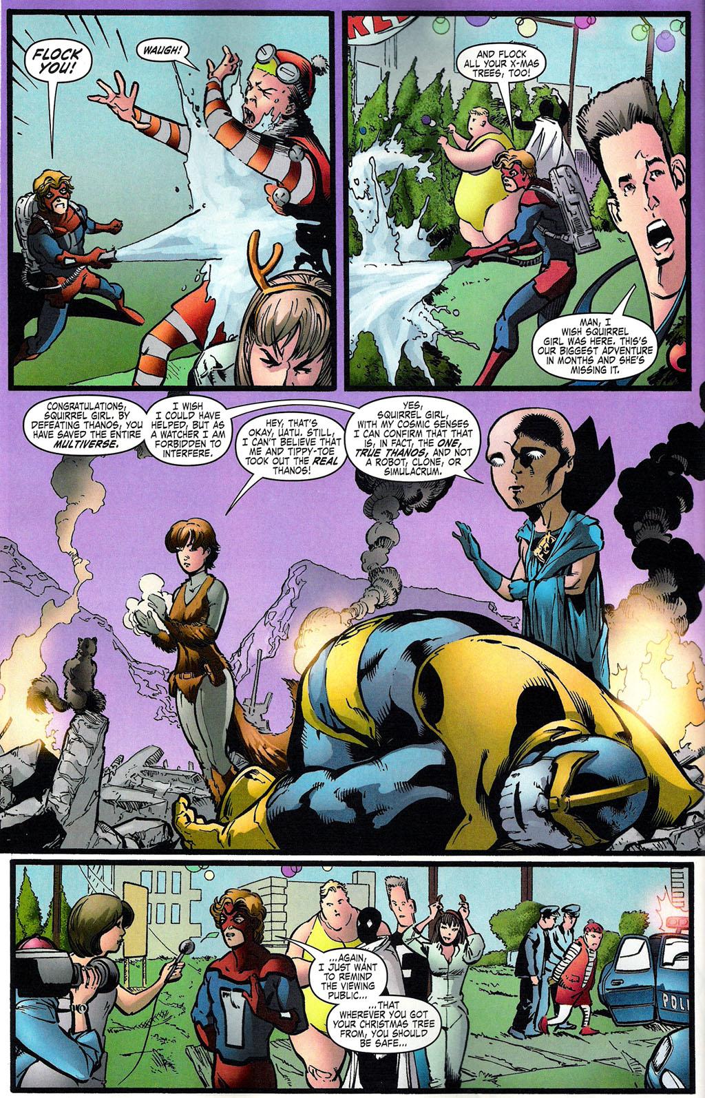 Thanos v Squirrel Girl - KabaLounge